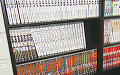 カプセルイン川越 漫画コーナー